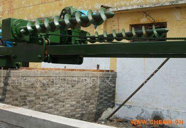 重庆合川猪场粪便处理设备,生态养猪翻池机,有机肥发酵翻池机