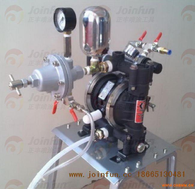 美国固瑞克716气动双隔膜泵图片