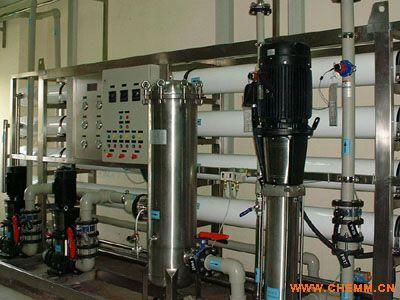 星源纯水反渗透装置加EDI纯水设备
