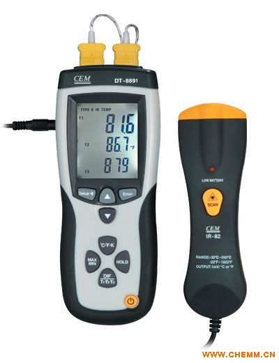 温度测试仪 dt-8891