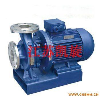 ISWH型卧式不锈钢管道泵、不锈钢化工泵、不锈钢化工管道泵