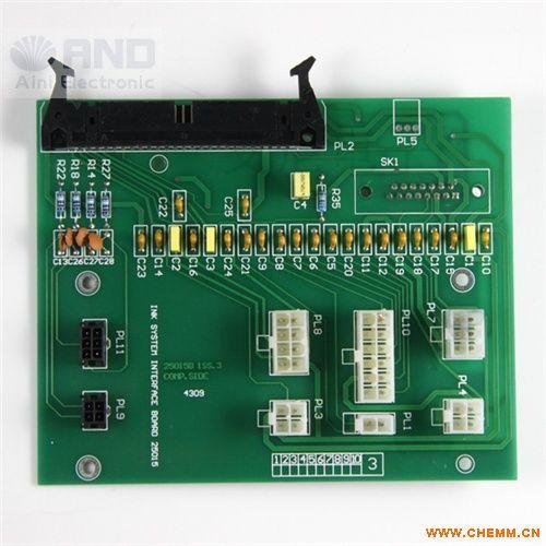 供应多米诺喷码机配件a系类墨路接口板