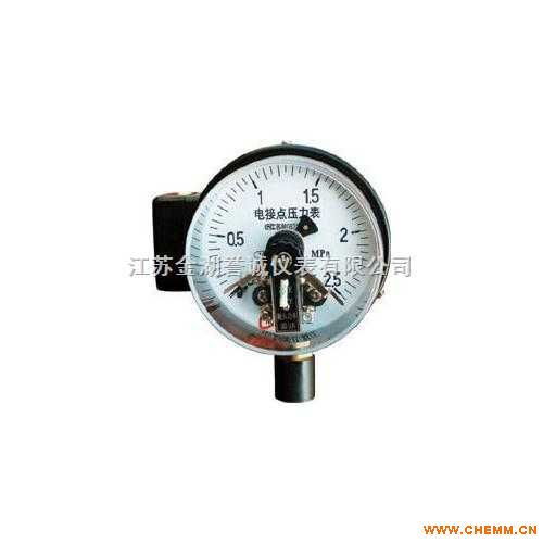 仪器仪表及自动化 压力仪表  电接点压力表 产品名称:电接点压力表
