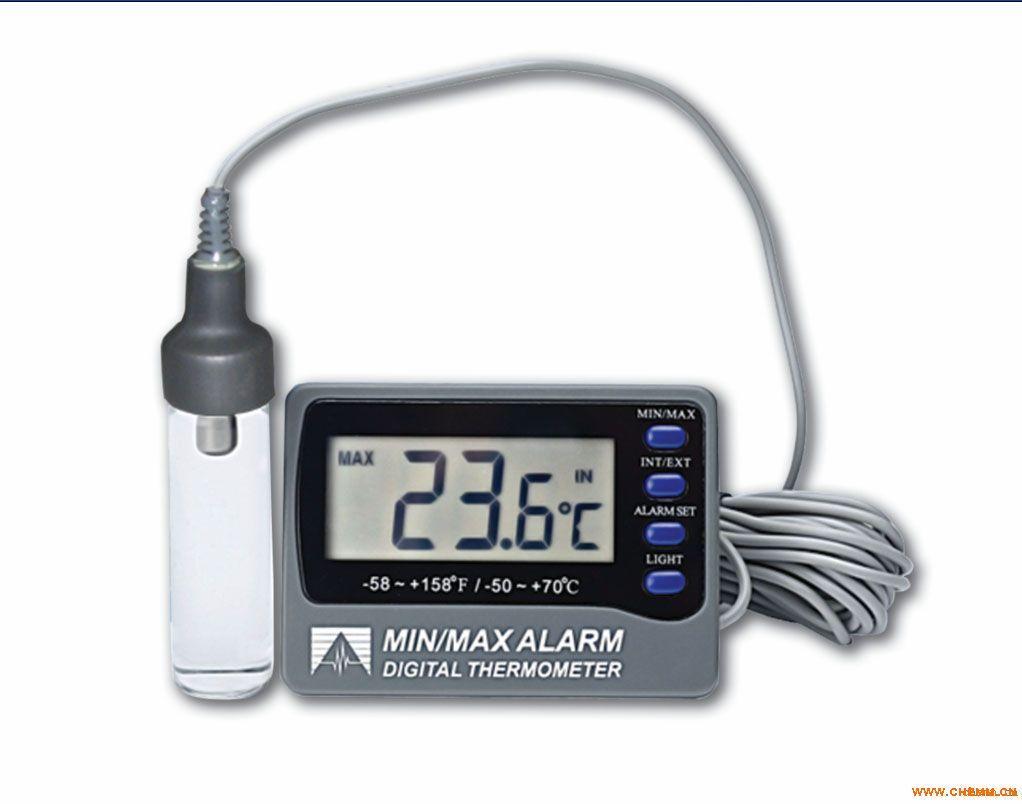 DeltaTRAK 认证疫苗、血液冰箱温度计12213