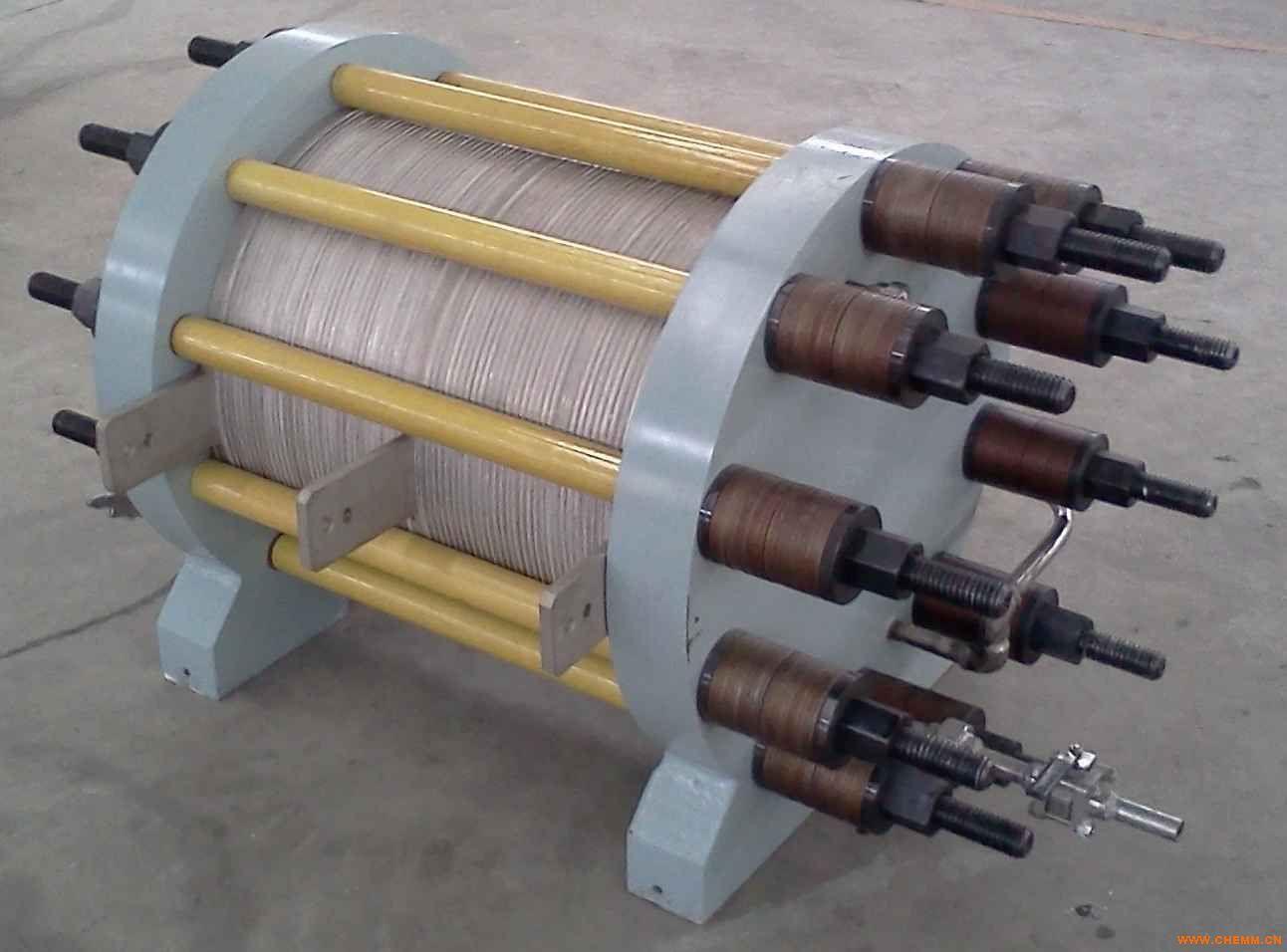 铜电解槽结构图