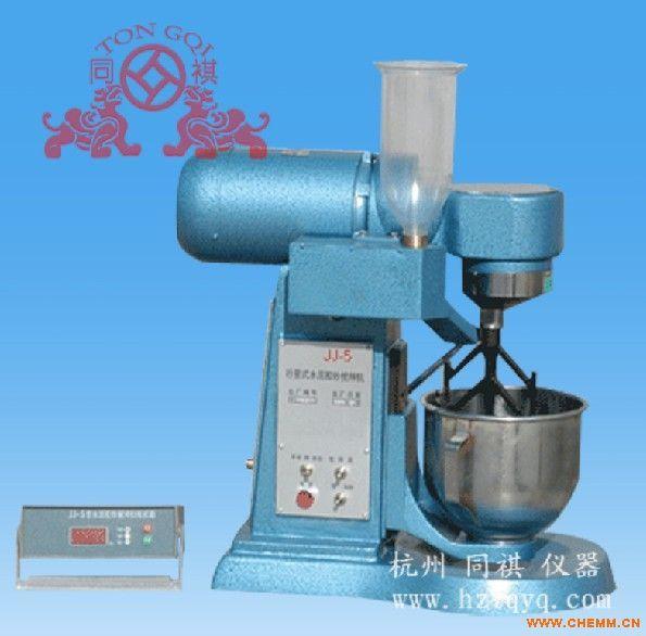 JJ-5 水泥胶砂搅拌机(杭州同祺仪器)