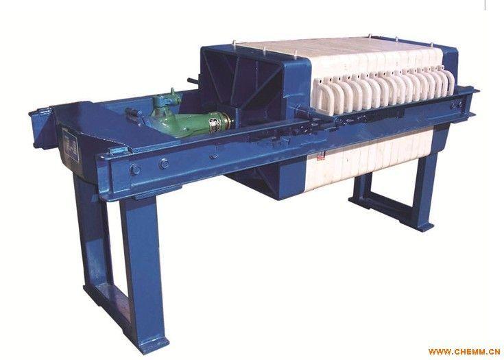 聚丙烯板框压滤机不锈钢板框压滤机手动液压板框压滤机图片