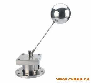 """四,浮球技术: 阀杆连接浮球,浮球呈""""浮动""""状态,它在水塔或水池中主要图片"""