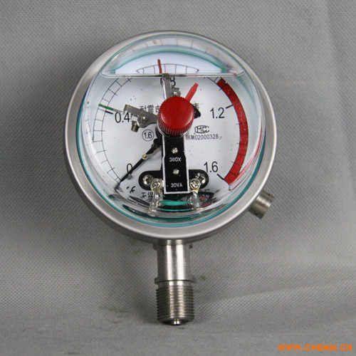 径向不锈钢电接点压力表