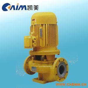衬氟管道离心泵GBF型