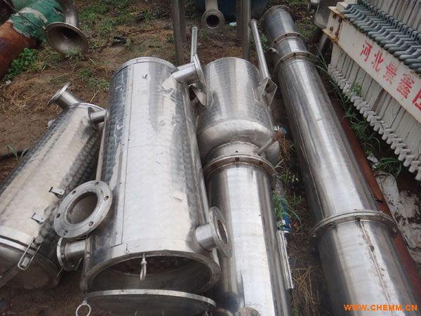 江苏二手三效十吨蒸发量的薄膜蒸发器报价