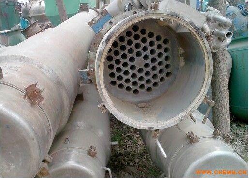 甘肃兰州二手三效十吨蒸发量的薄膜蒸发器报价
