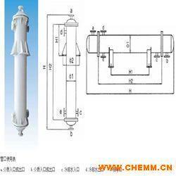 石墨聚丙烯列管式冷凝器