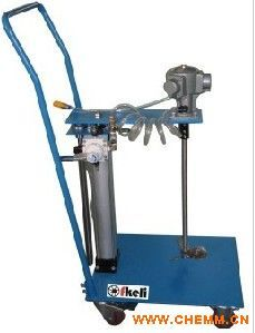直销零售 自动升降可移动式气动搅拌机
