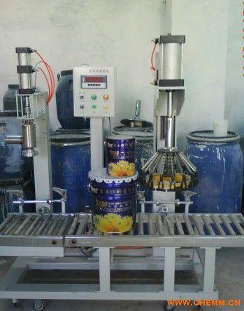 桶装灌装机,单嘴涂料包装机