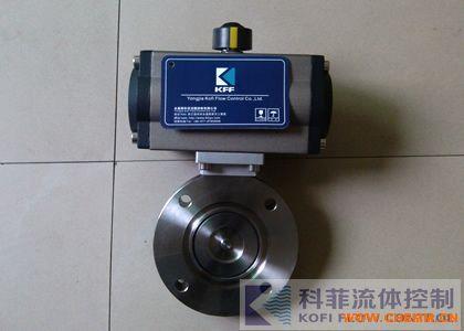 GIQ-50C气动高真空碳钢蝶阀