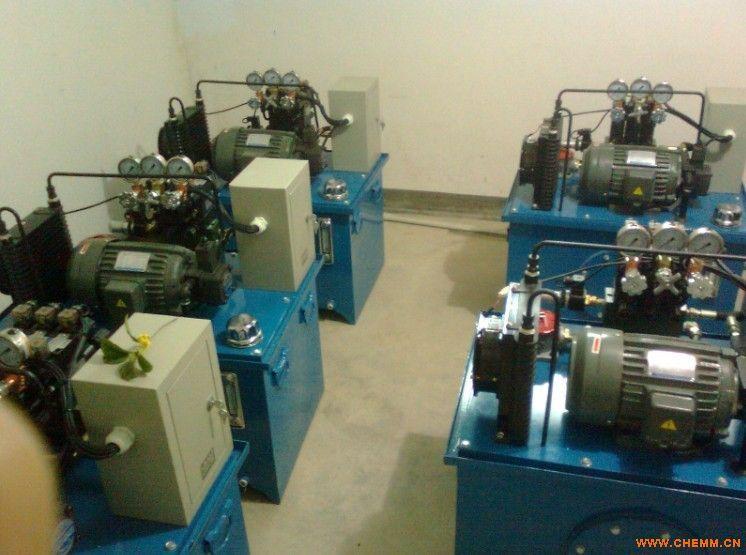 液压系统 液压泵站 液压站 机床液压系统 - 化工机械网图片