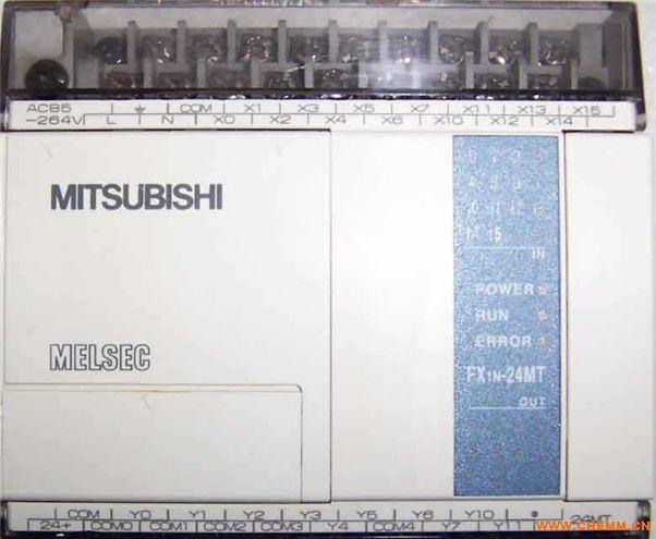 fx1n-24mt-001三菱plc/全新原装/晶体管输出