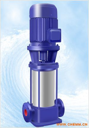 立式管道多级离心泵图片