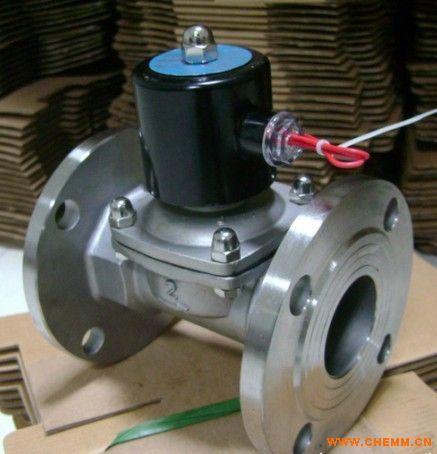 2w法兰不锈钢电磁阀/不锈钢蒸汽电磁阀图片