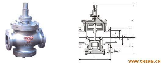 日本蒸汽减压阀 进口蒸汽减压阀 气体减压阀 减压阀工作原理图片