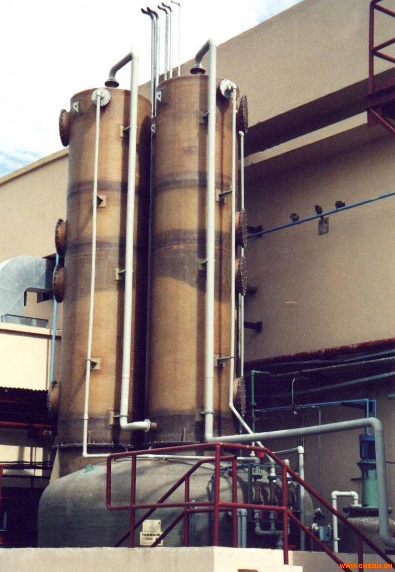 供应西班牙tecnium尾气洗涤塔scrubber