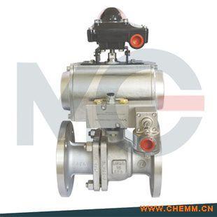 原装(米盖)气动球阀-第二代高平台-各种气缸