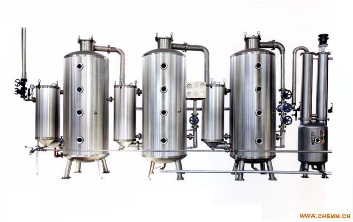 二手不锈钢三效浓缩蒸发器质量保证
