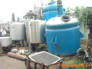 回收蒸发器,出售二手双效三效四效浓缩蒸发器,二手单效薄膜蒸发器