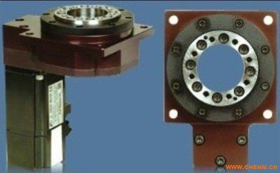 台湾台瑞中空旋转平台、台瑞专业生产的/精密中空轴旋转台、行星齒輪及太陽齒齒輪材料採用SCM4材料,經硬滾、滲碳、熱處理至硬度50~55HRC及齒面研磨加工,確保齒輪精度、最佳耐磨耗、耐衝擊韌性、使壽命更長。 中空旋转平台产品介绍: 中空旋转平台是一款专利产品,创新性的新产品。用于多种旋转运动场合。可取代DD MOTOR与凸轮分割器。集高工作效率,高精度,高刚性,高性价比于一身。,既可满足分割器无法达到之数位控制,定位精度又可媲美DD马达。可大幅度降低成本,为您带来意想不到的效果! 应用: 可运用与产线自动