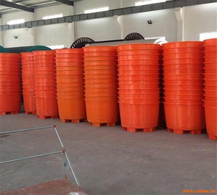 柏泰m-1200l叉车塑料圆桶 pe圆桶 工厂用桶
