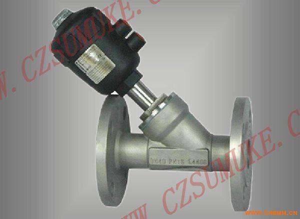 气动角阀 - 中国化工机械网图片
