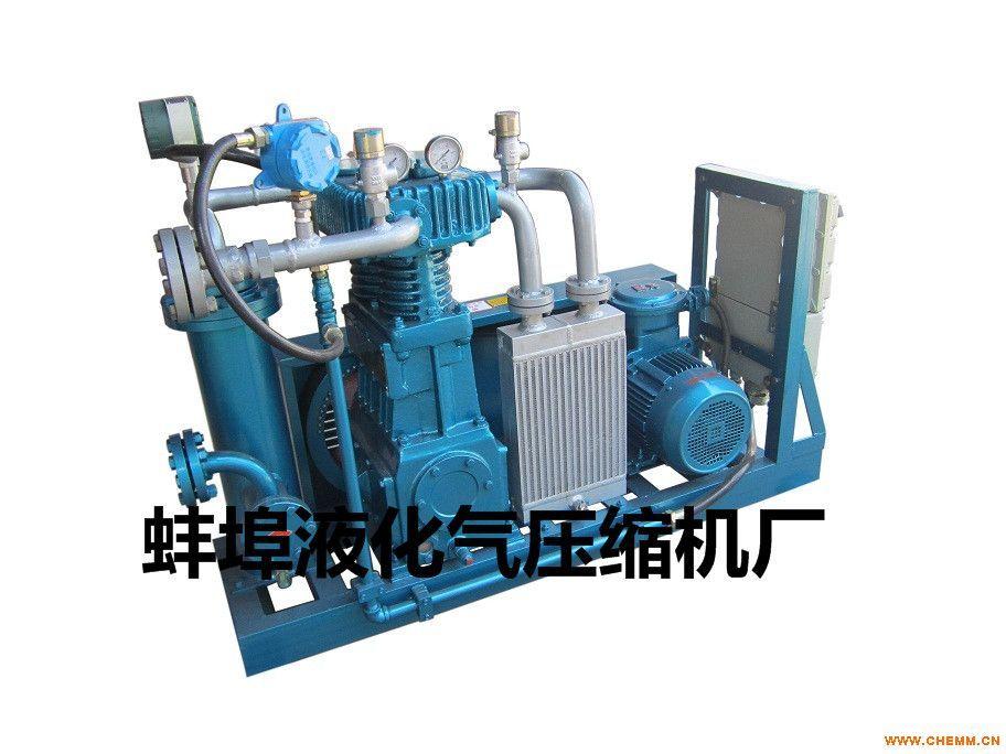 液化气压缩机 天然气压缩机 卸氨制冷设备 设计生产维修图片