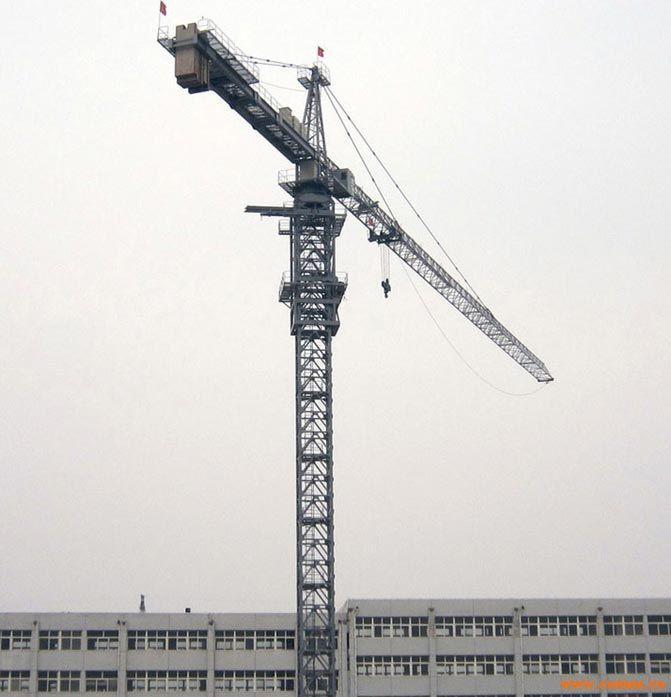 QTZ160 6516 塔式起重机 10吨塔机 10吨塔吊 变频遥控塔机 -QTZ160