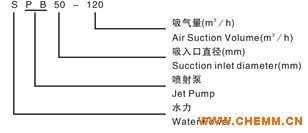 SPB型水喷射真空泵