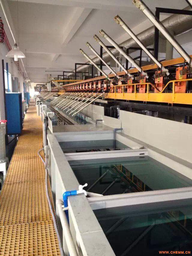 吊鱼式自动挂镀生产线