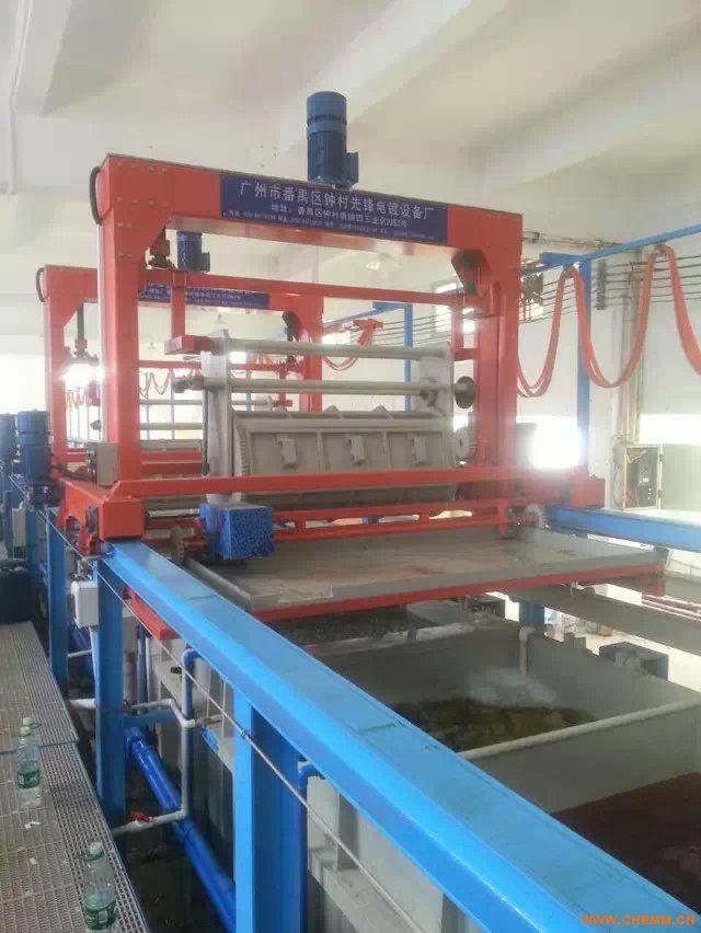自动滚镀锌生产