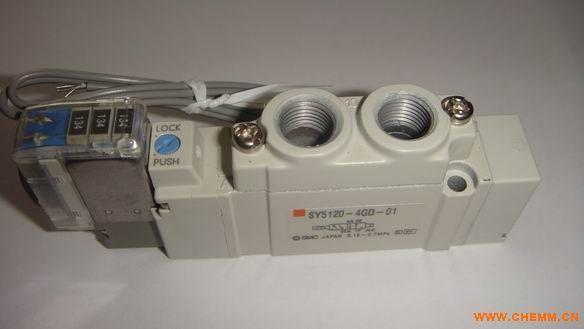 smc电磁阀各个接口连接方式图片