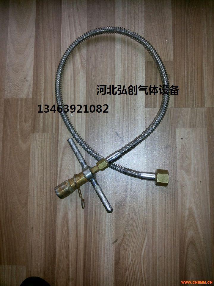 河北弘创独家供应高压金属四氟软管/软管接头规格