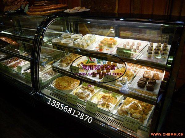 圆弧形蛋糕柜 合肥蛋糕保鲜柜