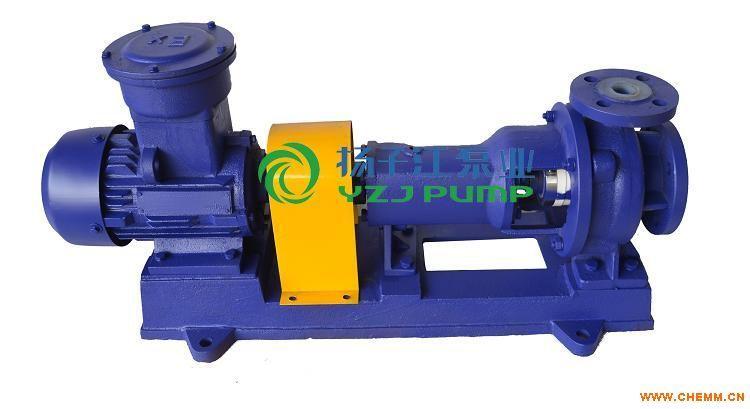 耐腐强酸强酸化工泵:IHF型防爆氟塑料化工泵|氟塑料离心泵