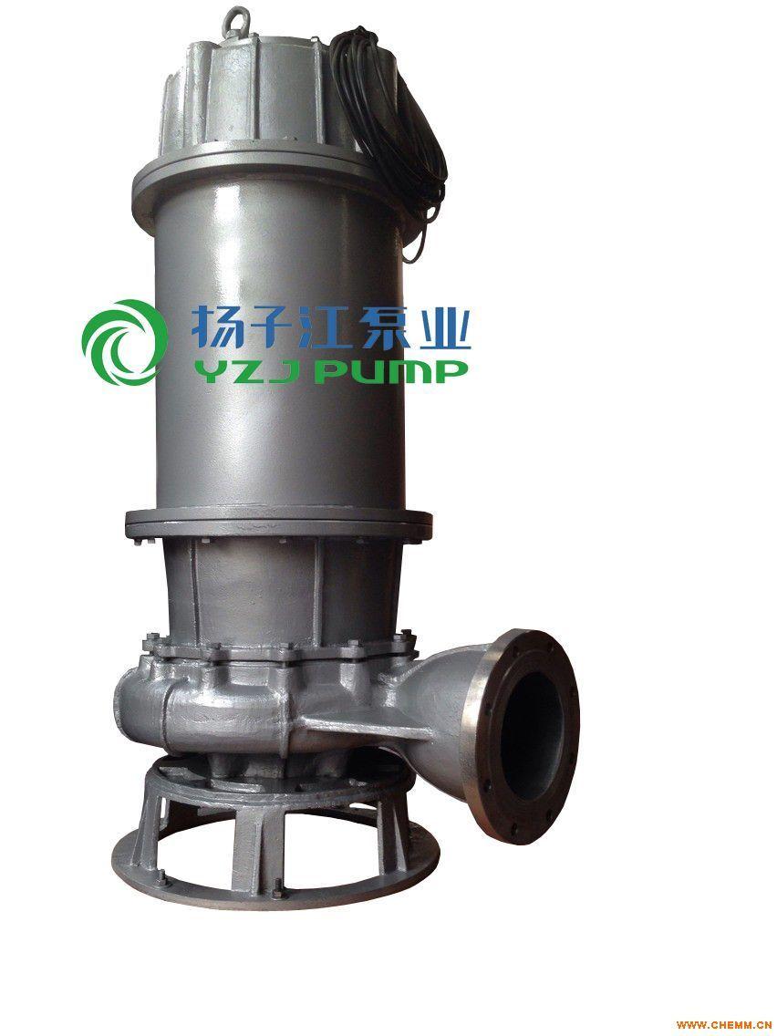 排污泵:WQP型不锈钢潜水排污泵,杂质泵,污水泵,抽水泵