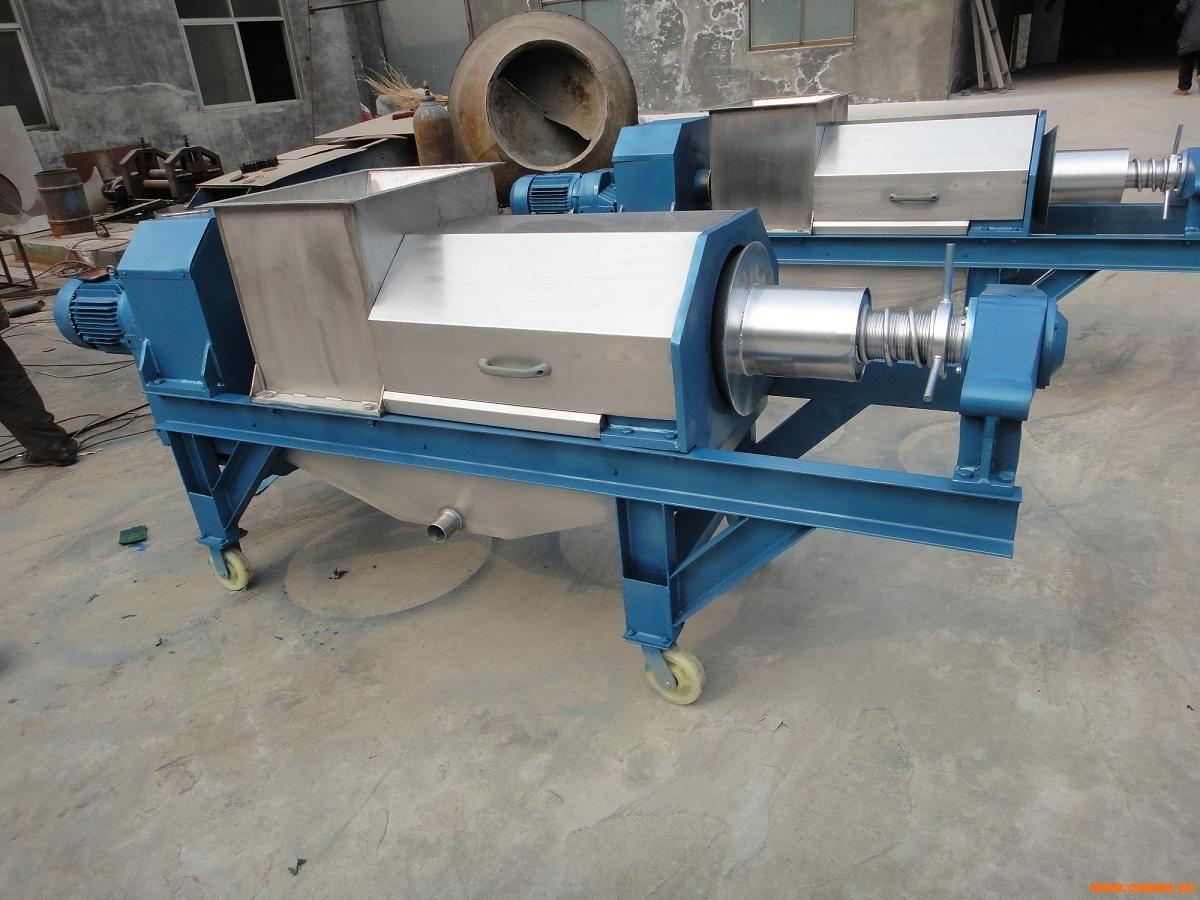 垃圾,环卫设备  产品名称:湖南双螺旋压榨机垃圾脱水挤压机 产品编号