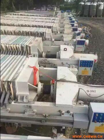 二手隔膜程控自动压滤机