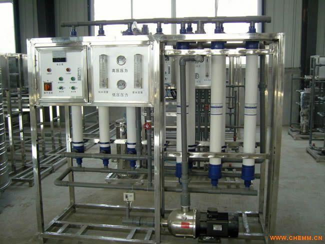 矿泉水、山泉水生产流程