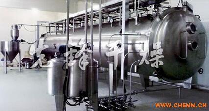 中药配方颗粒专用低温连续真空带式龙8国际老虎机