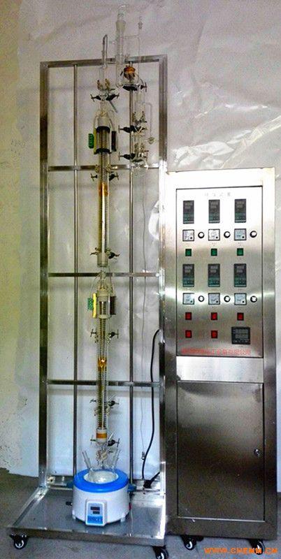 武汉高通定制玻璃精馏塔  实验室玻璃精馏塔GTJL-03