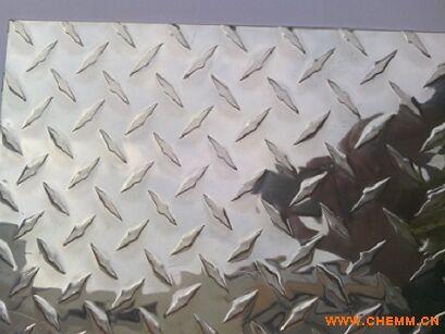 3003压花铝板 亮面指针型花纹铝板