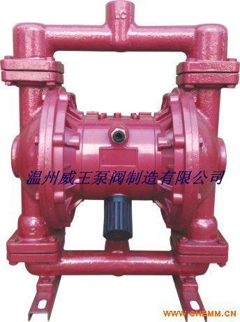 QBY型铸铁气动隔膜泵,丁晴橡胶膜片气动隔膜泵,潜水气动隔膜泵