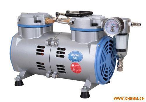 无油真空抽滤泵_台湾洛科Rocker801无油真空泵 真空抽滤泵抽气泵 活塞式真空泵 ...